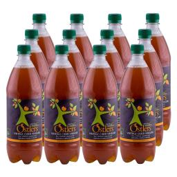 Ostlers - 12 x Vintage Cloudy Apple Cider Vinegar with Mother 1 Litre bottle