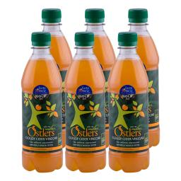 Ostlers - 6 x Cloudy Apple Cider Vinegar with Mother 500ml bottle
