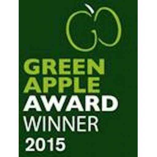Celebrations here - as Ostlers wins a Green Apple Environment Award !