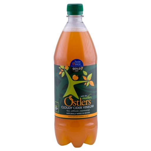 Ostlers - Cloudy Apple Cider Vinegar with Mother 1 Litre bottle